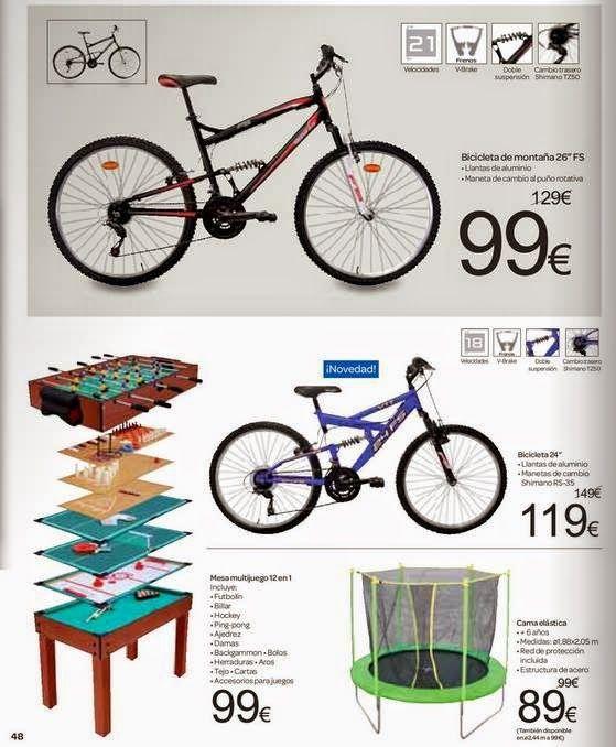 Ofertas de Bicicletas Enero 2015 Carrefour
