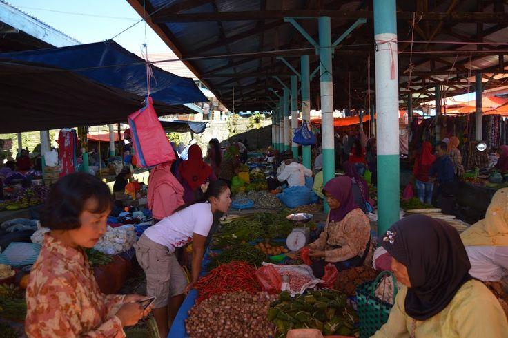 Kerinci Summit: Traditional Market Place