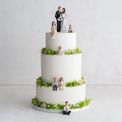Preteen Boy Porcelain Figurine Wedding Cake Topper
