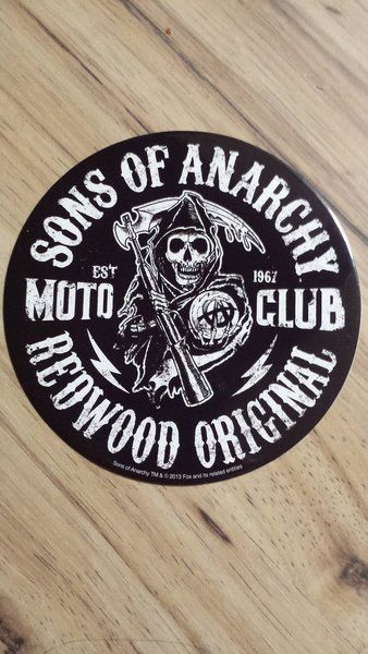 Sons of anarchy samcro redwood original sticker s o a fx channel