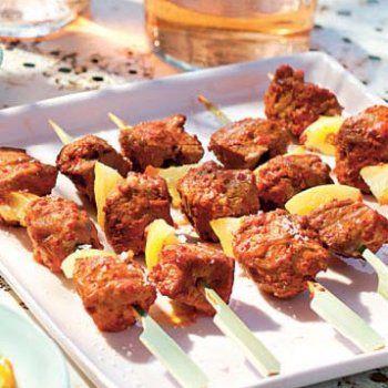 Minibrochettes d'agneau tandoori @Cuisine et Vins de france
