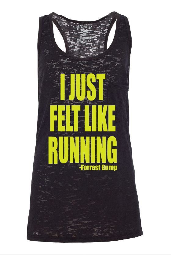 YES!!!  Sale I just Felt Like Running Forest Gump by GraphicsUnlimitedLLC, $16.00