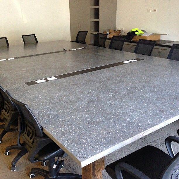 POPconcrete Boardroom table