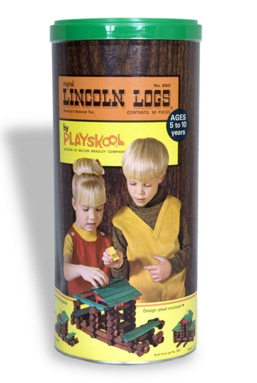 1000 Images About Lincoln Logs On Pinterest Toys Vintage And Building Homes