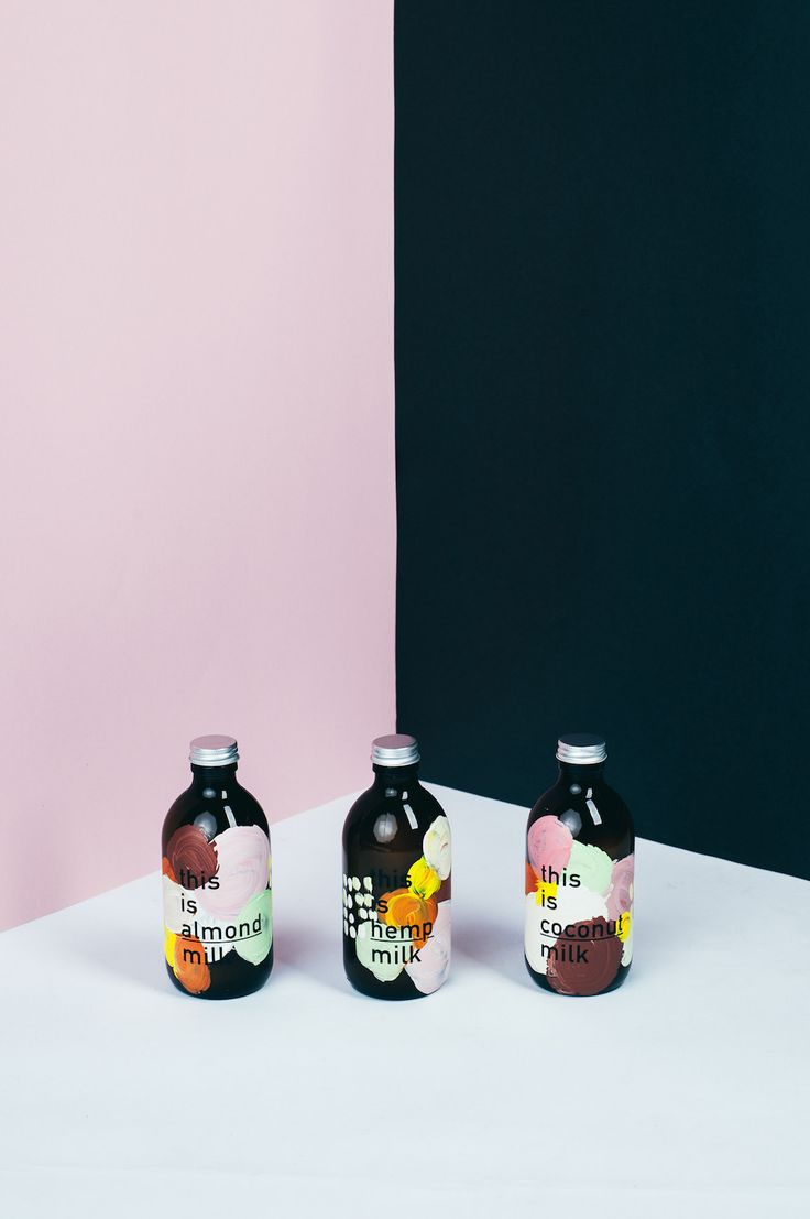 <p>Brand identity project for a fictive brand this is _ milk by Daniel Faro is artsy and abstract. Celebrating different types of milk, such as coconut, hemp or almond, Faro teaches us about all healt
