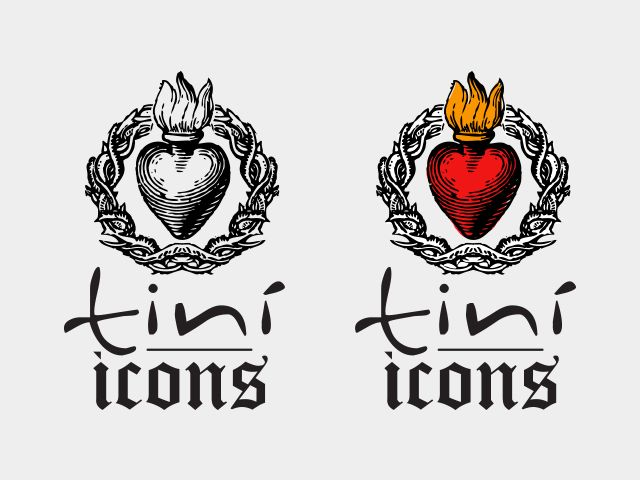 """Logo, flyer and communication design for Tinì 2013 Season named """"ICONS""""."""