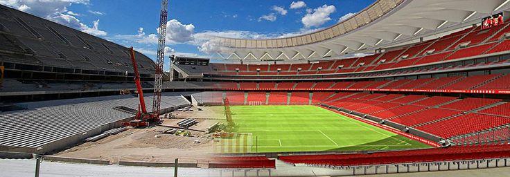 ARCHITIME.RU - Футбольные стадионы будущего. Какие арены строят себе топ-клубы Европы? Стадионы Испании.