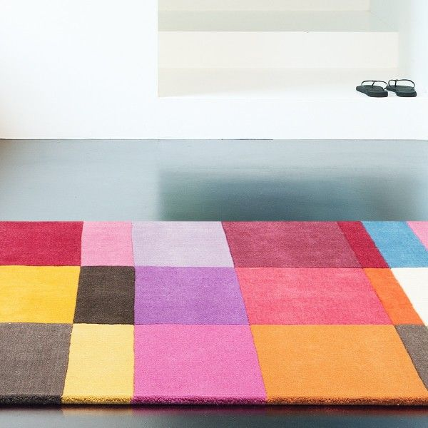 9 best images about tapis on pinterest carpets home and furniture - Tapis salon multicolore ...