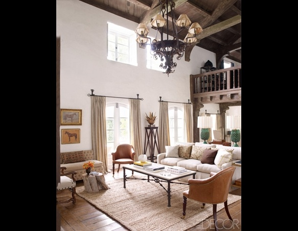 Reese Witherspoon's Ojai Hideaway | TooFab Photo GalleryReesewitherspoon, Reese Witherspoon, Living Rooms, Elle Decor, Ree Witherspoon, Interiors, Livingroom, Elledecor, House