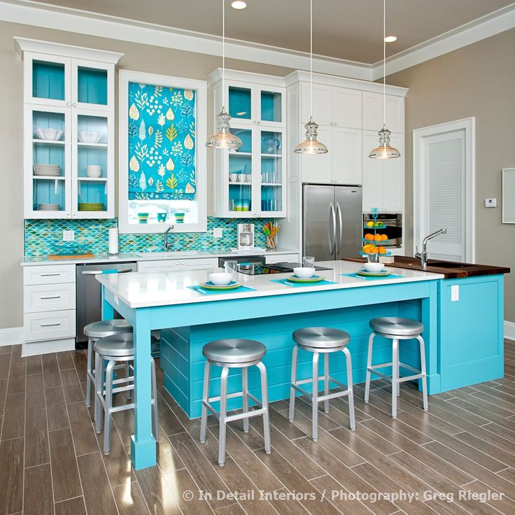 Top 3 2014 Kitchen Design Trends | Beautiful Design Made Simple #1   Bold  Color