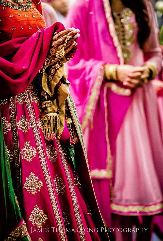 Desi Weddings #pink Indian weddings www.weddingsonline.in