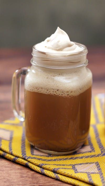 Made with rich butterscotch flavors and topped with caramel whipped cream, this is one magical treat.