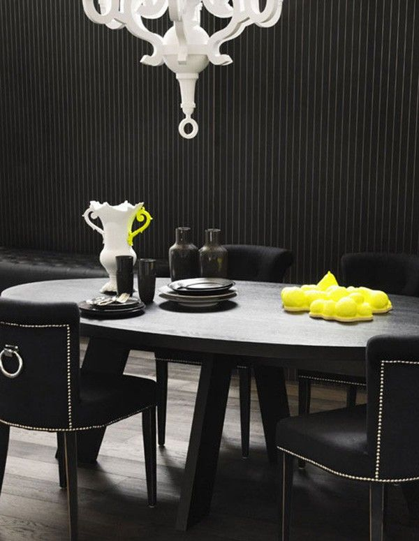 Black Interior design 16