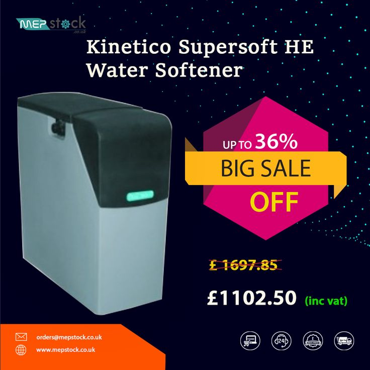 Supersoft HE WaterS oftener Water softener