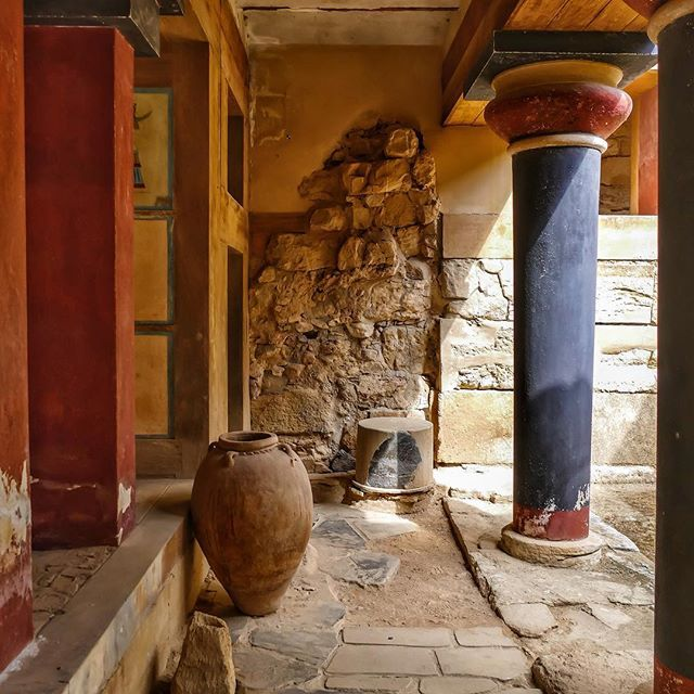 #knossos palace #crete island #greece