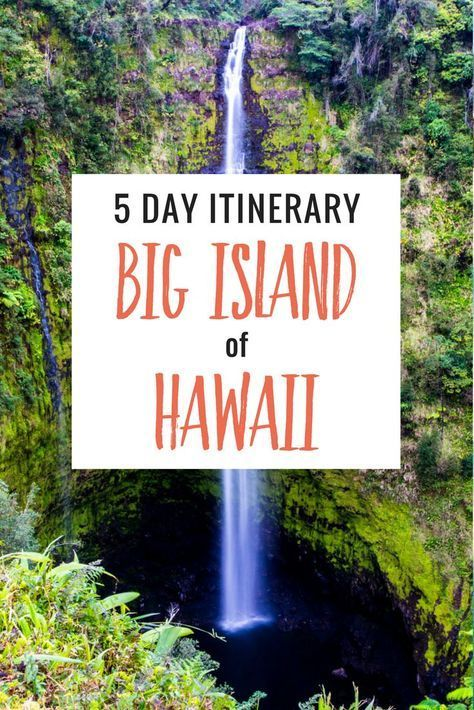 5 day itinerary exciting things to do on the big island of hawaii rh uk pinterest com