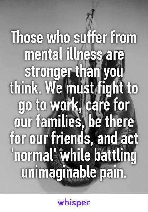 Shout out to anyone suffering from mental illness!
