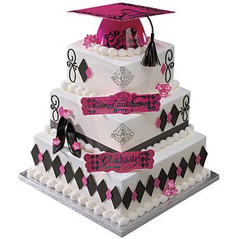 The Keys to Success Pink Graduation Cake Decoration will make your graduation cake look amazing! Each Grad Deco Kit comes 2 plastic lay ons.