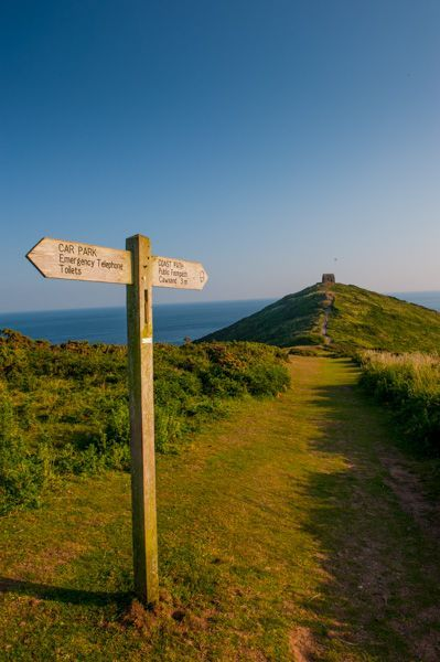 The path to Rame Head Chapel, Cornwall, England, built in the early 1300's | @spiezia