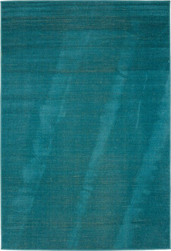 $161   7x10  Bayswater Teal Area Rug
