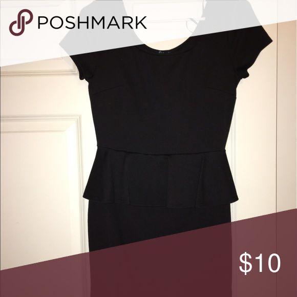 Little black dress Black peplum dress, perfect for any occasion. Dresses Midi