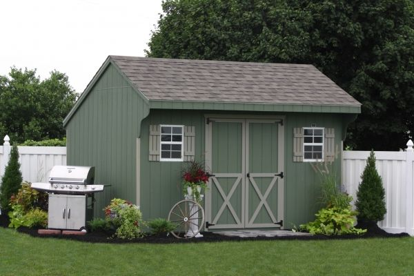 Pa Prefab Two Car Garages And Amish Built Sheds: 1000+ Ideas About Prefab Sheds On Pinterest