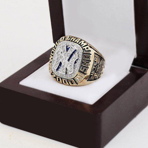 2000 New York #Yankees DEREK #JETER Collector Series Solid Brass Replica World Series Ring #newyork  #new
