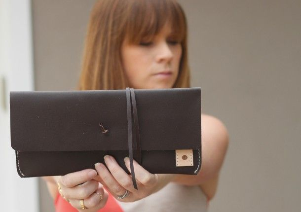 Love this leather clutch by @standard_goods: Style, Leather Clutch