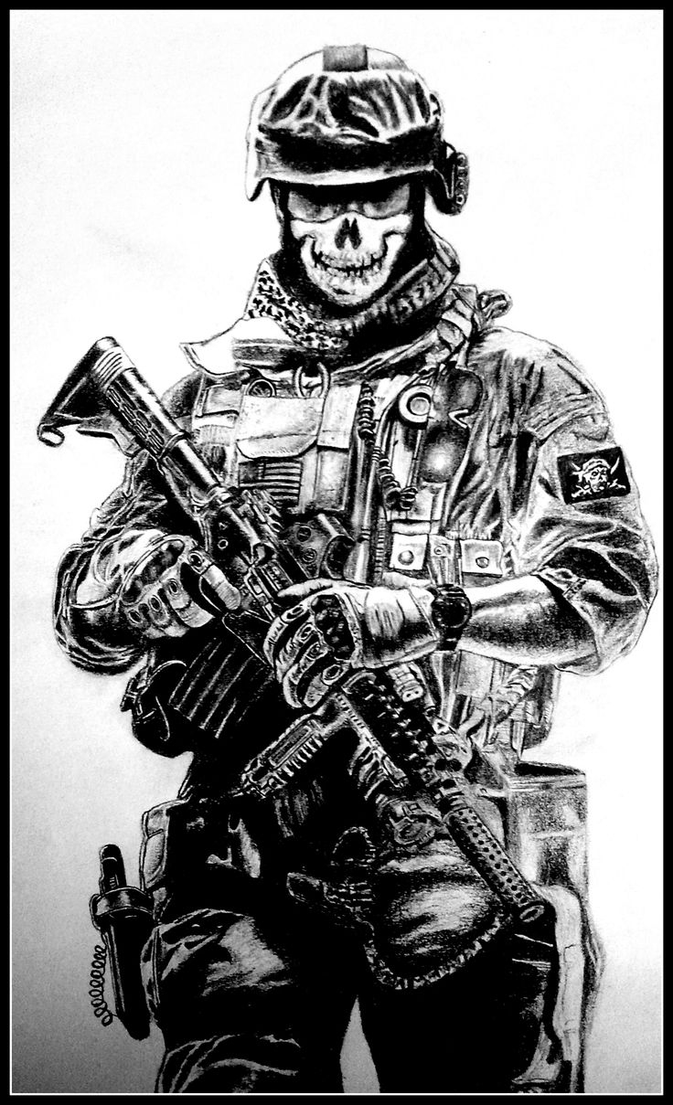 Gallery For gt Navy Seal Sniper Drawings