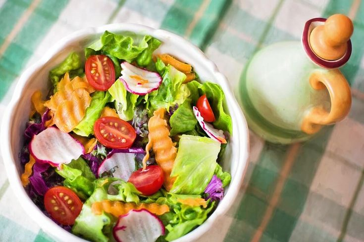 Make Healthy Salad in 60 Seconds