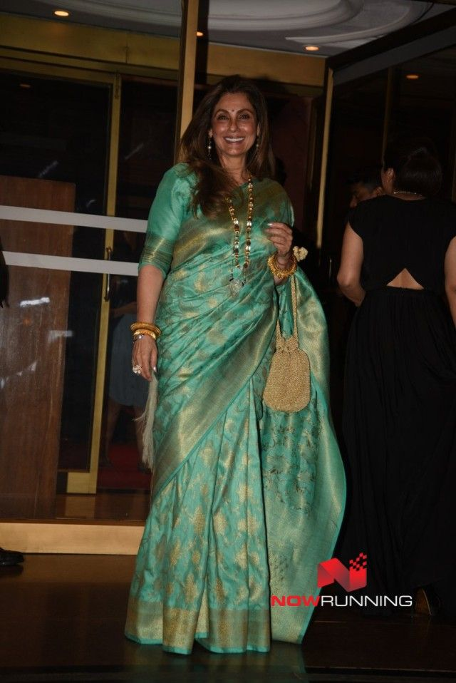 Dimple Kapadia at Hello! Hall of Fame Awards 2