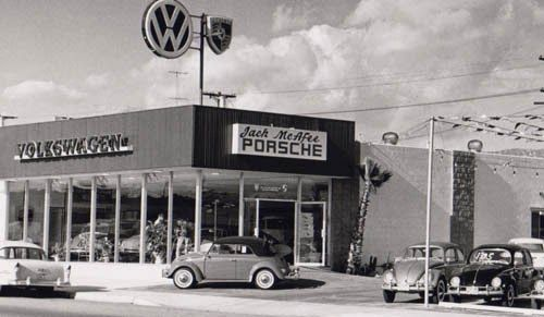 old vw porsche dealer old garage gas station gaspump etc pinterest porsche dealers. Black Bedroom Furniture Sets. Home Design Ideas