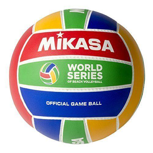 Mikasa World Series Official Beach Volleyball by Mikasa Sports. Mikasa World Series Official Beach Volleyball.