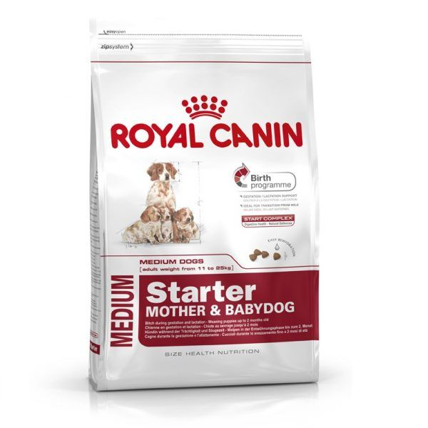 Royal Canin Medium Starter Dog Food online in India at best reasonable price. Find a range of royal canin dog foods and treats, puppy food of different breeds at PetClubIndia.com online Pet store.