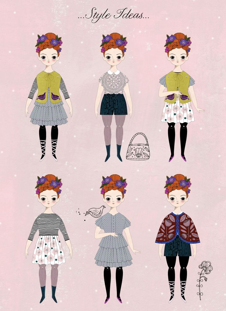 Florence | A Paper Doll Kit by ofunusualkind.com