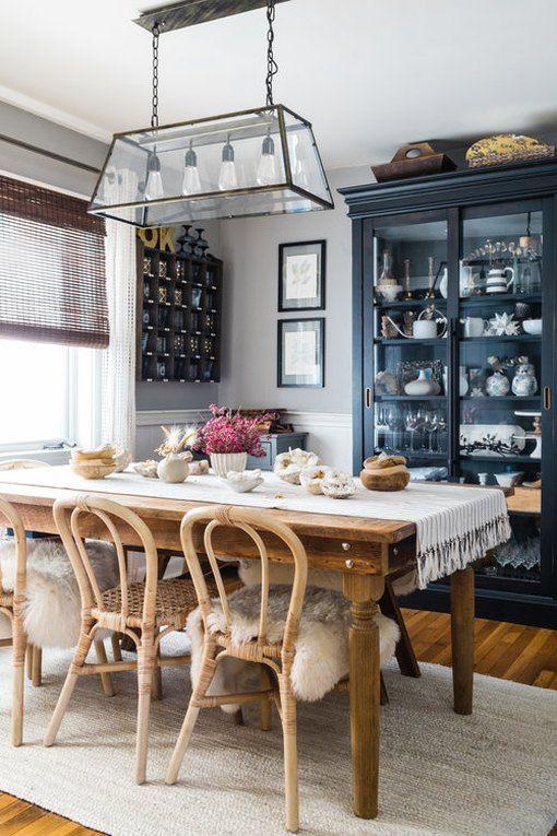 14 rustic dining rooms that will make your farmhouse shine la casa rh pinterest com