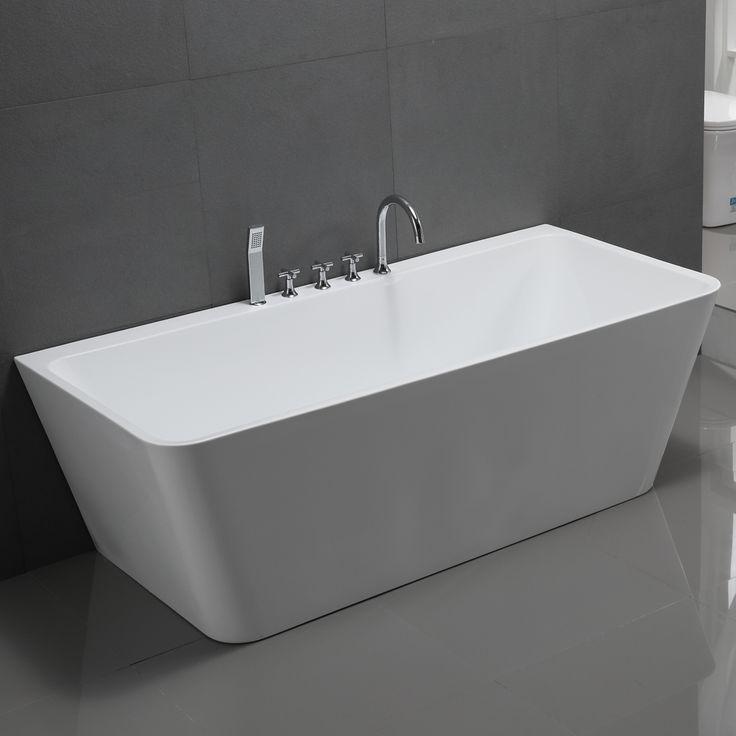 Die besten 25+ Armatur badewanne Ideen auf Pinterest | Badezimmer ... | {Badewannen armaturen freistehend 86}