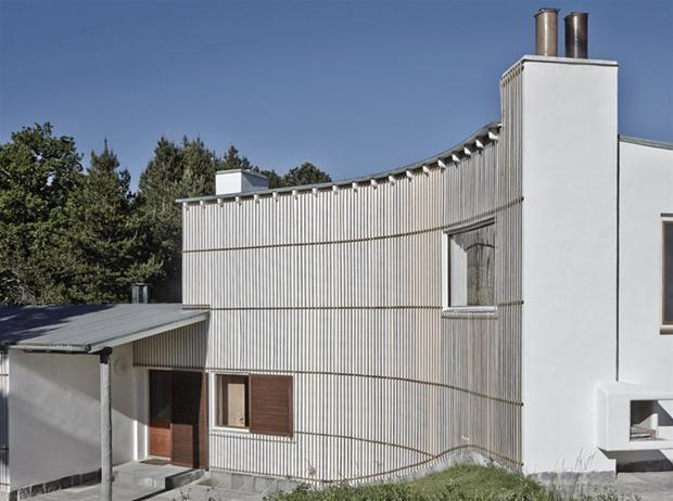 arne jacobsens summerhouse scandinavian masters pinterest arkitektur og huse. Black Bedroom Furniture Sets. Home Design Ideas
