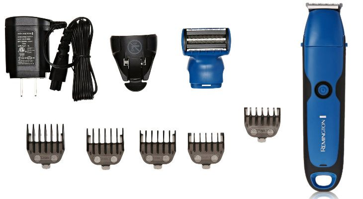 Remington PG6250 WetTech Lithium Powered Head, Beard, & Body Grooming Kit, Trimmer (8 Pieces)