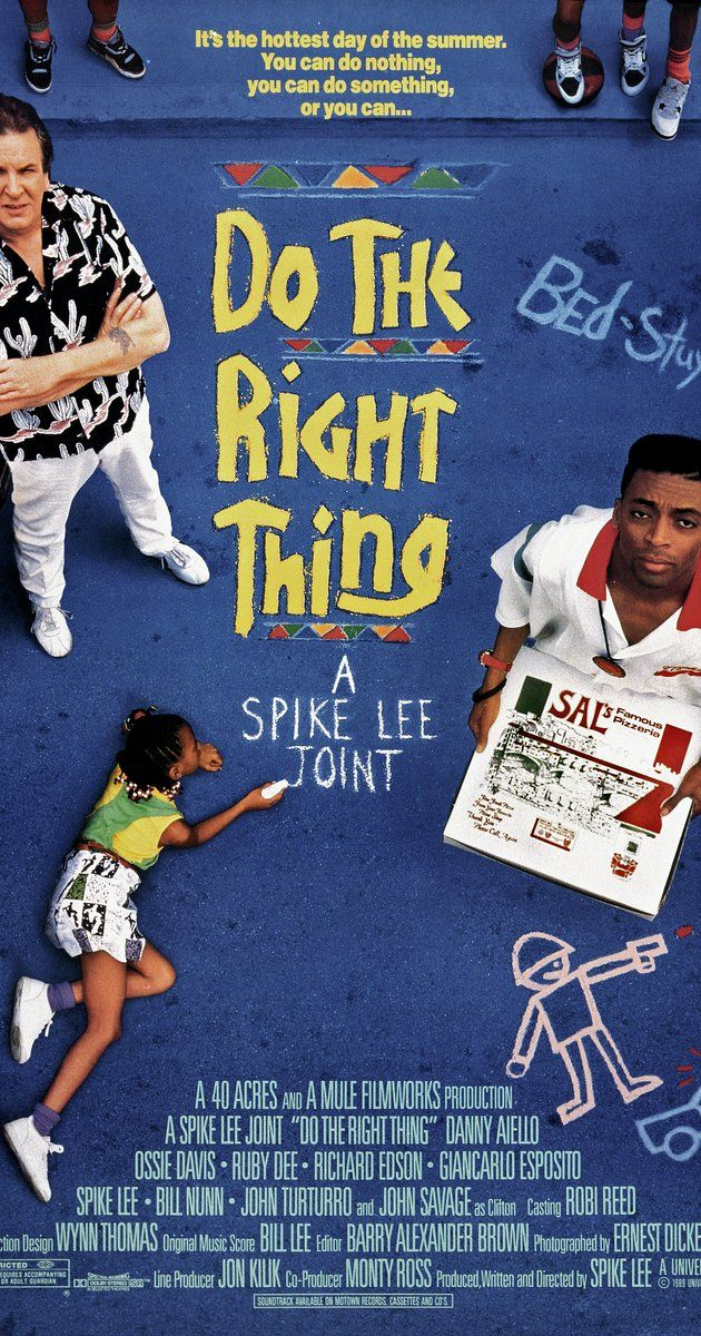 violence and racism in the movie do the right thing by spike lee What is ever the right thing to do the film do the right thing by spike lee is a hard-hitting drama that deals with violence and racism in today's society.