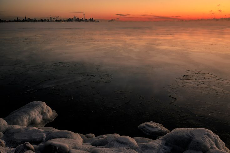 Morning Freeze - - 40 C in Toronto, ON