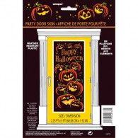 Door Poster Pumpkin Grin $4.95 M40778