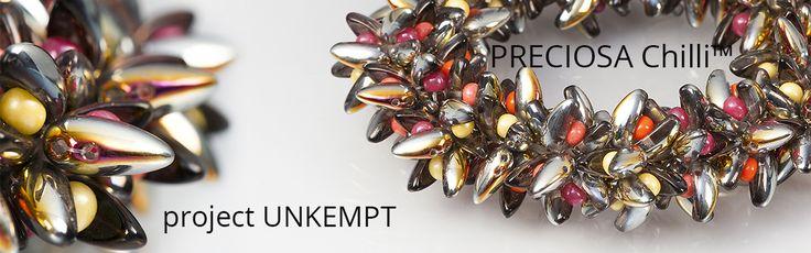 Bracelet made using PRECIOSA Chilli™