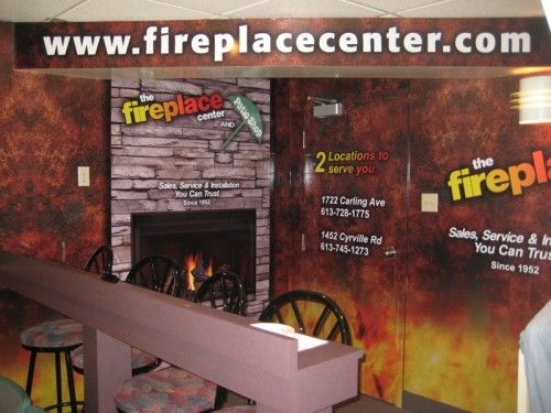 FirePlace Center Civic Center Suite Graphics