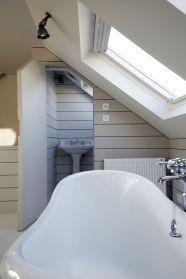 small loft bathroom