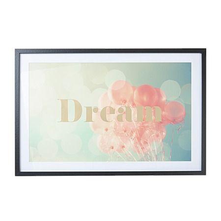 Home & You Framed Art Dream 40cm x 60cm