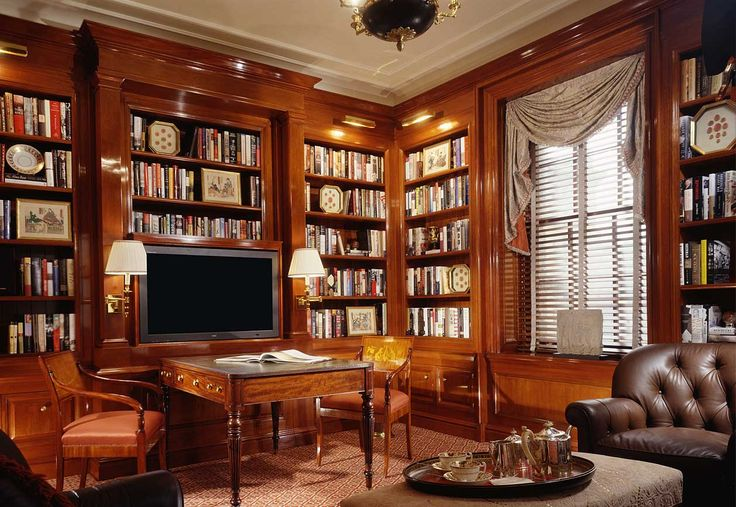 Library Home Office Den And Study John B Murray