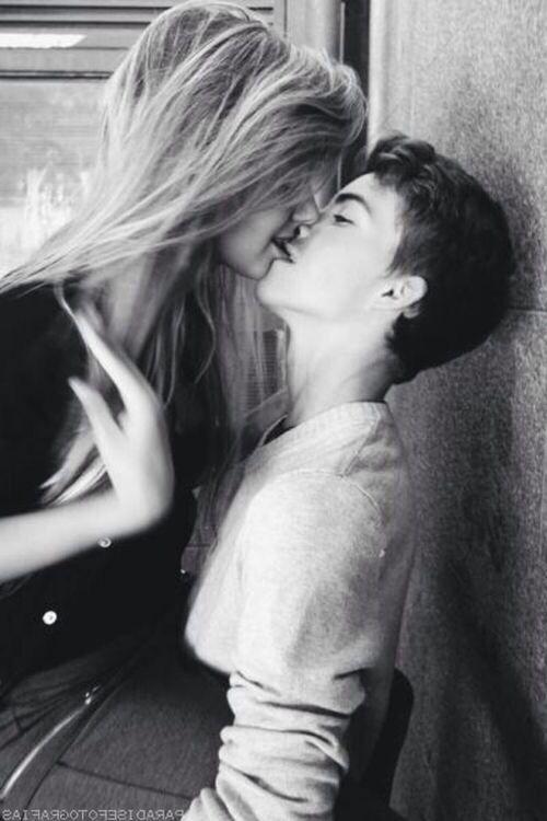couple, cute, kiss, love, teens