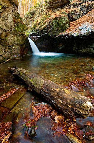 Malý Nýznerovský vodopád, Nýznerov, Rychlebské hory