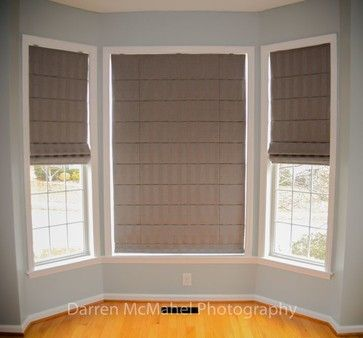 Roman Shades - eclectic - roman blinds - raleigh - Best Blinds